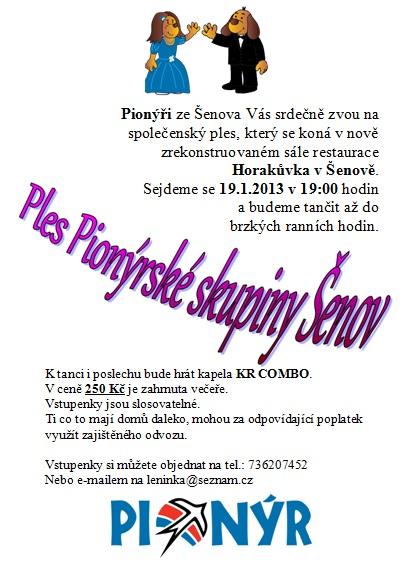 Pozvánka na PS ples 2013